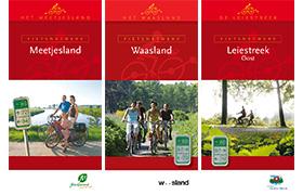 Update fietsnetwerken Meetjesland, Waasland, Leiestreek-Oost en Update Taalgrenswandelroutes Vlaamse Ardennen