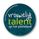 Logo Vrouwelijk talent op het platteland