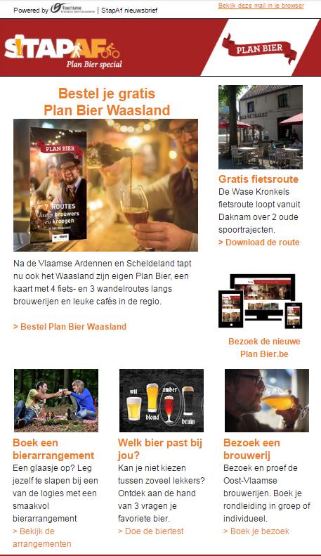 Plan Bier Special, nieuwsbrief juni