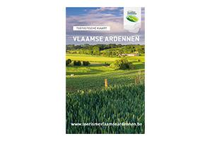 Toeristische kaart Vlaamse Ardennen