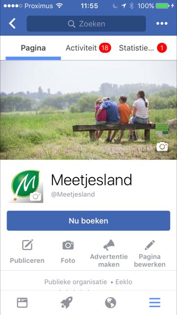 Toerisme Meetjesland Facebook actie