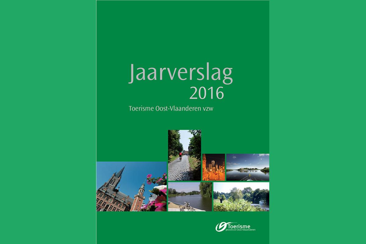 Productief in 2016: het jaarverslag van Toerisme Oost-Vlaanderen