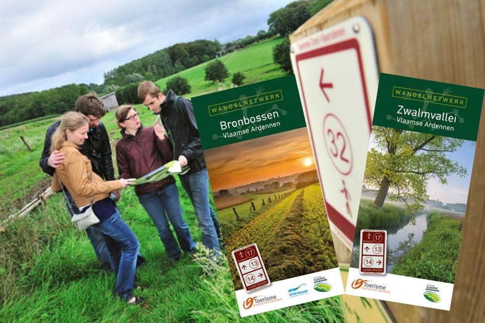 Nieuwe wandelnetwerken in de Vlaamse Ardennen
