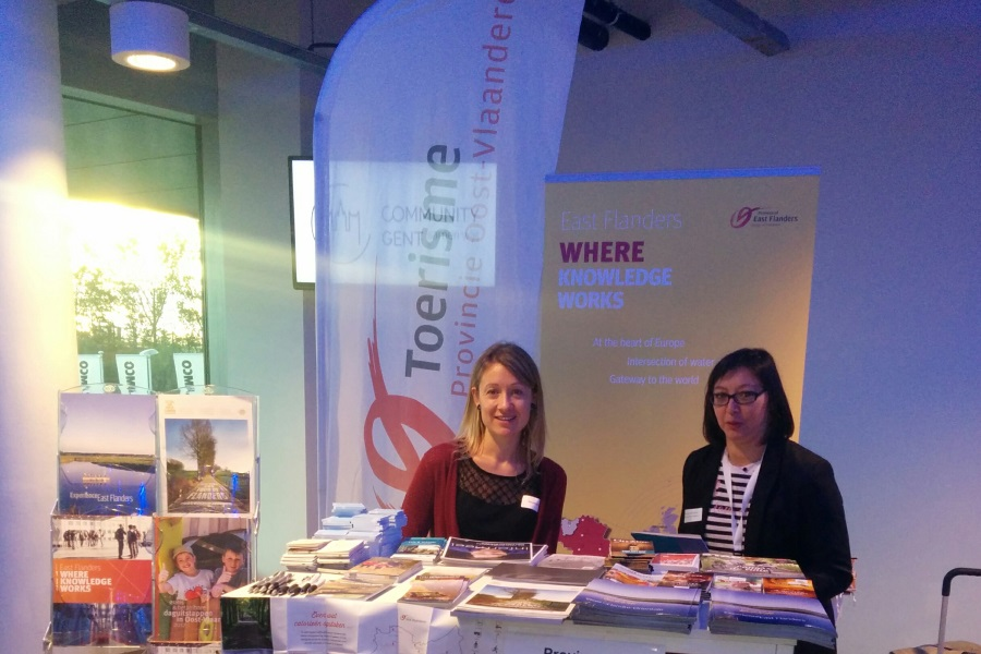 Toerisme Oost-Vlaanderen op Fiets- en Wandelbeurs