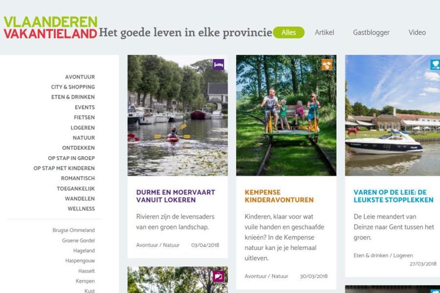 Vlaanderen Vakantieland is terug van nooit weggeweest!
