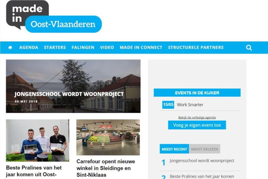 Weetjes over je onderneming op Made in Oost-Vlaanderen