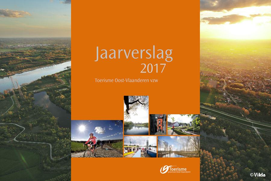 Productief in 2017: het jaarverslag van Toerisme Oost-Vlaanderen