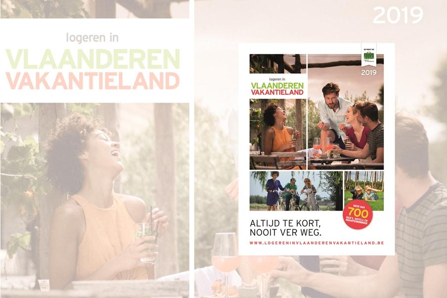 Nieuw logiesboek Logeren in Vlaanderen Vakantieland 2019