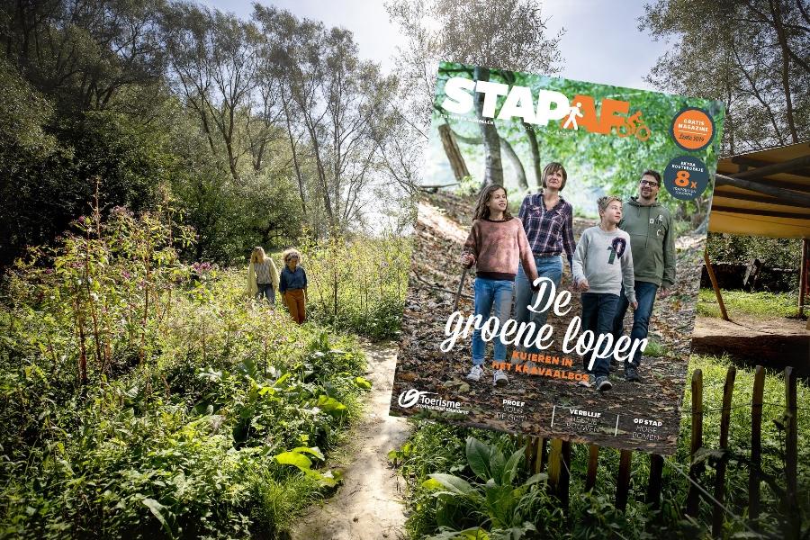 Het bos in, met StapAf