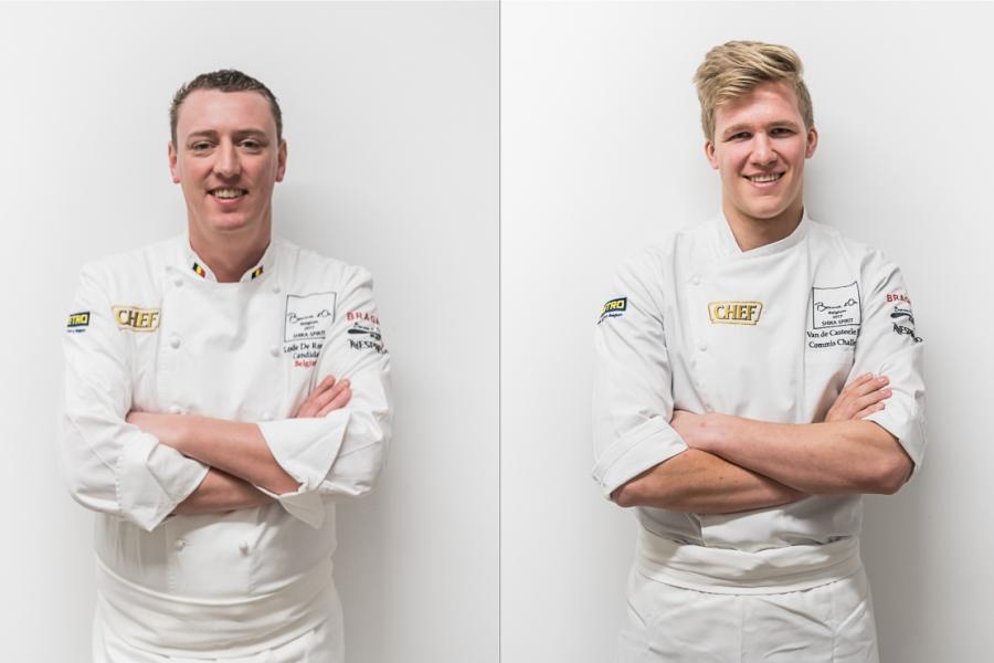 Lode De Roover (Zele) achtste op prestigieuze kookwedstrijd Bocuse d'Or