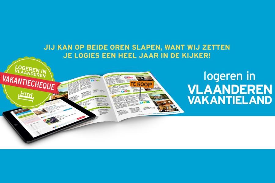 Schrijf je in voor de campagne Logeren in Vlaanderen Vakantieland 2020