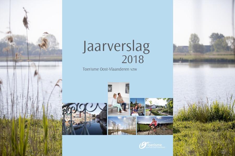 Productief in 2018: het jaarverslag van Toerisme Oost-Vlaanderen