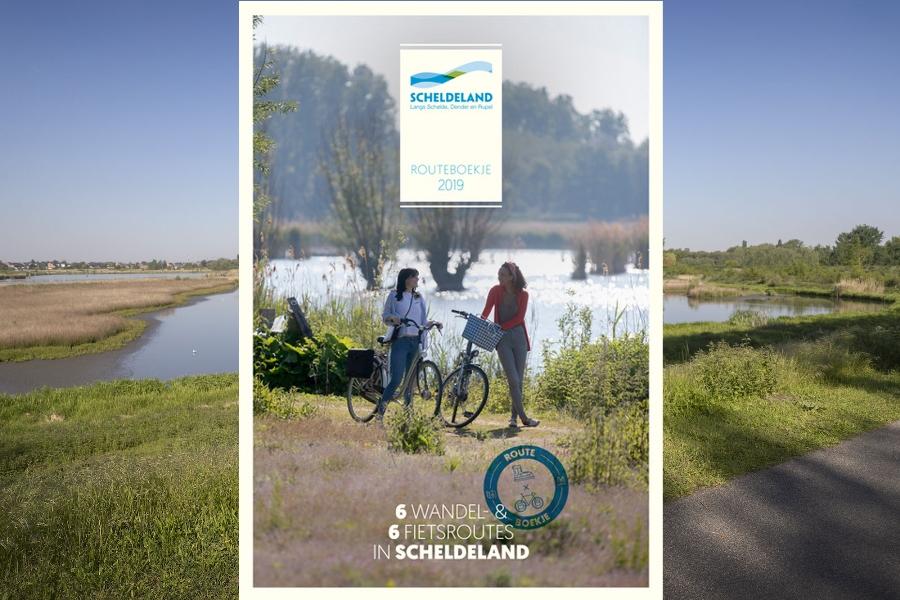 Nieuw digitaal routeboekje en campagne Scheldeland