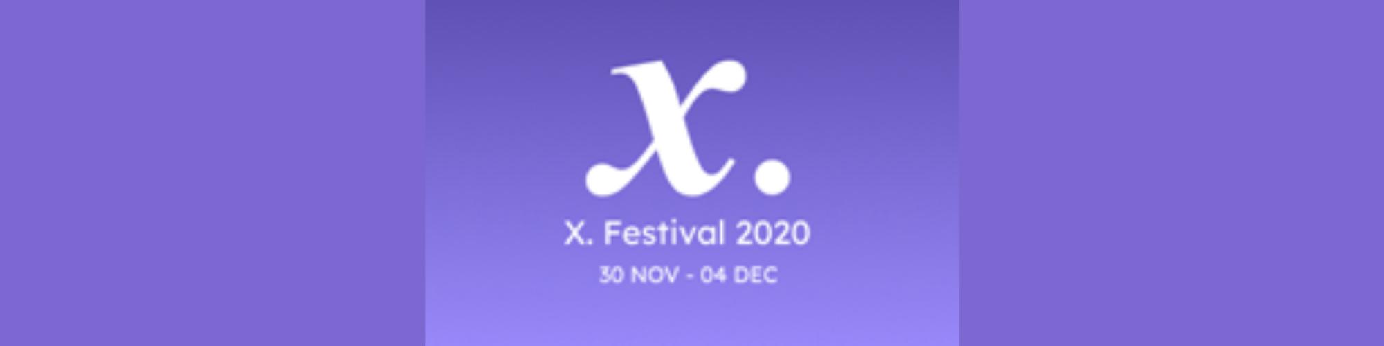 Gratis inspiratieweek op X.Festival 2020